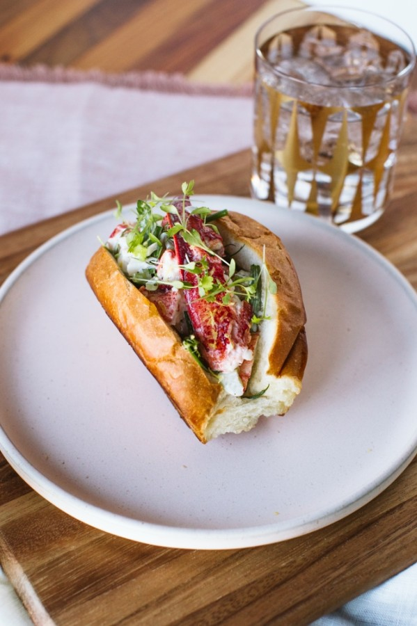 The Garden at Ellera will feature menu items such as a lobster po'boy. (Courtesy The Garden at Ellera)