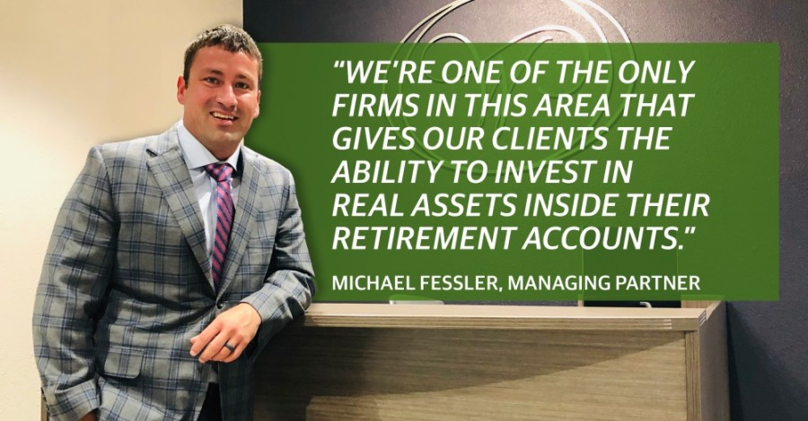 Managing partner Michael Fessler founded Westlake Wealth Management in downtown Roanoke in 2018. (Photo by Ian Pribanic/Community Impact Newspaper)
