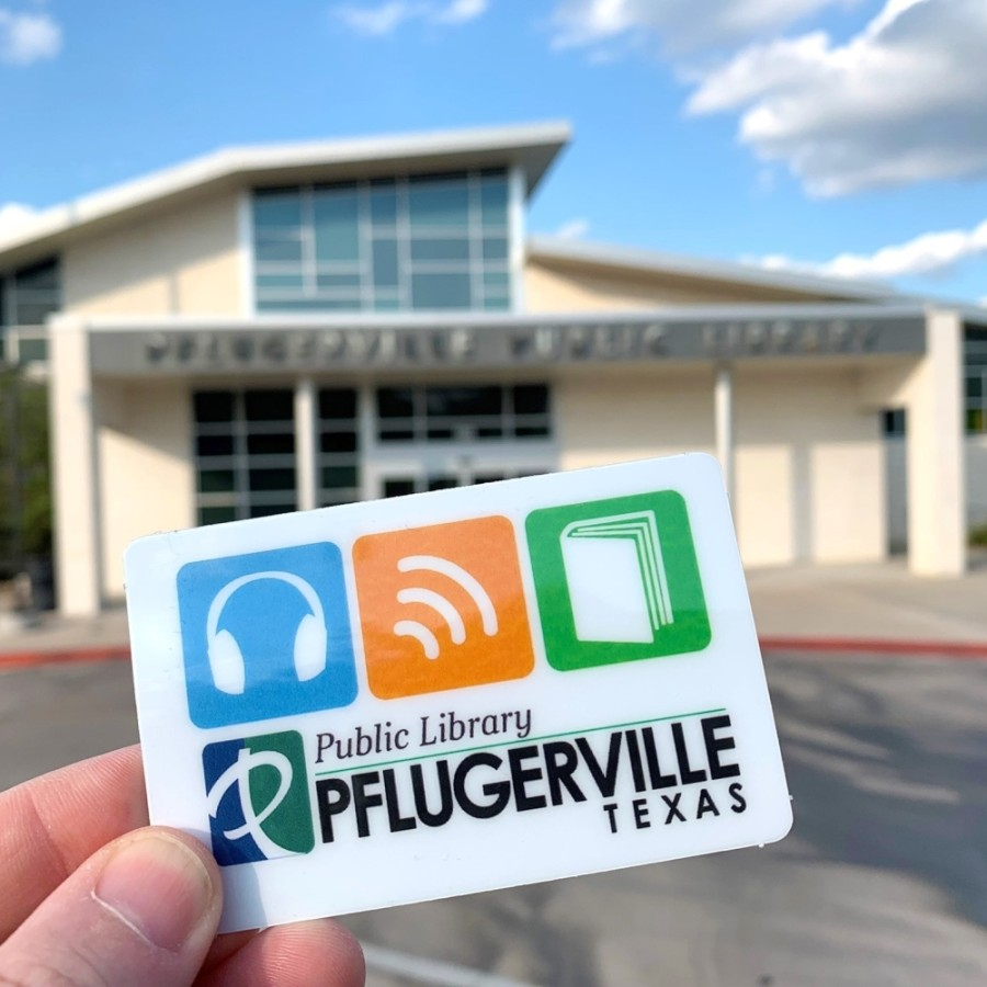 Currently, the Pflugerville Public Library offers free Wi-Fi in its parking lot, a virtual library card signup, digital resources, and a range of virtual events and programs for patrons. (Courtesy Pflugerville Public Library)
