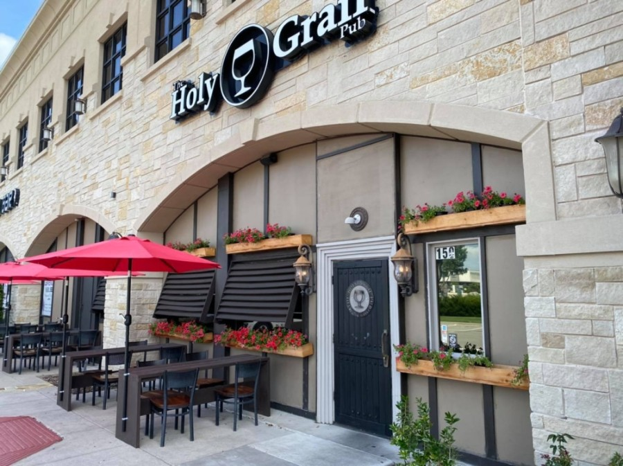 Holy Grail Pub reopened July 22 on Preston Road in Plano. (Courtesy Holy Grail Pub)