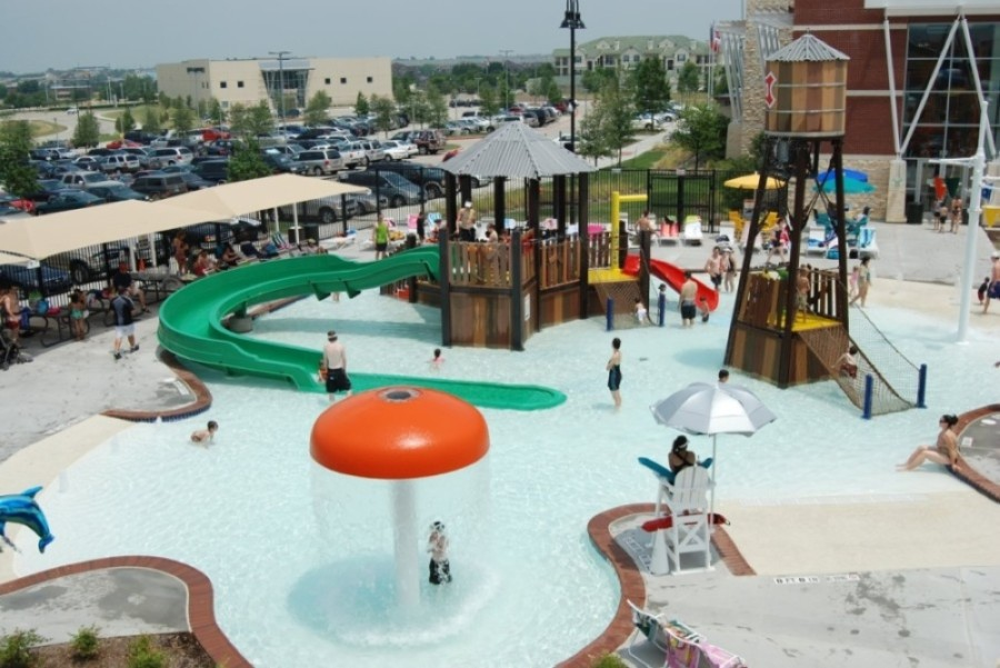 The Outdoor Water Park at the Frisco Athletic Center will reopen to the public July 27. (Courtesy Visit Frisco)