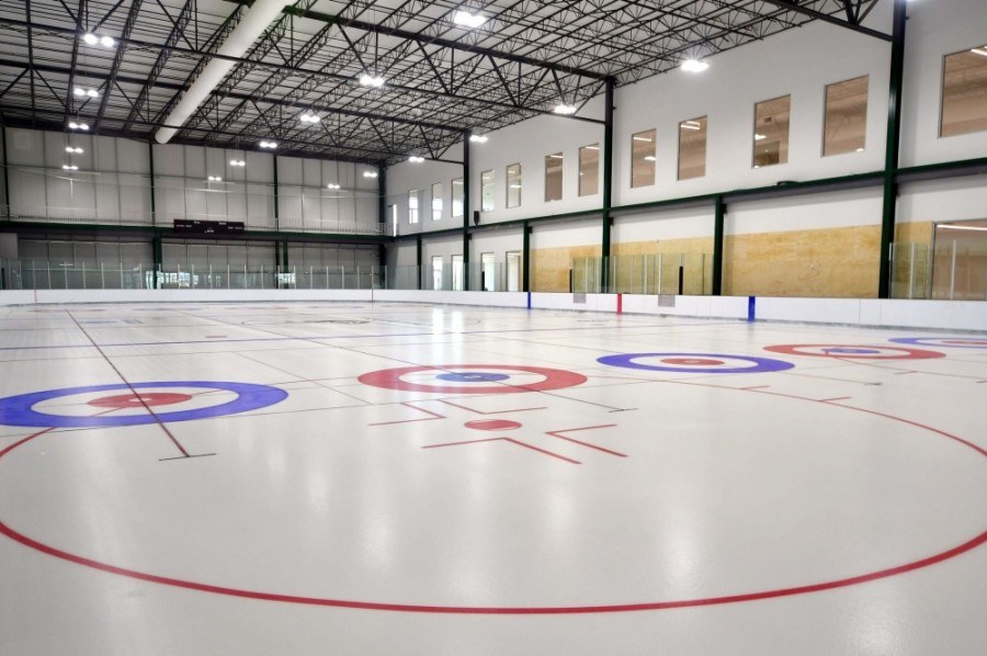 The new Chaparral Ice location offers two NHL-sized hockey rinks. (Courtesy The Crossover)