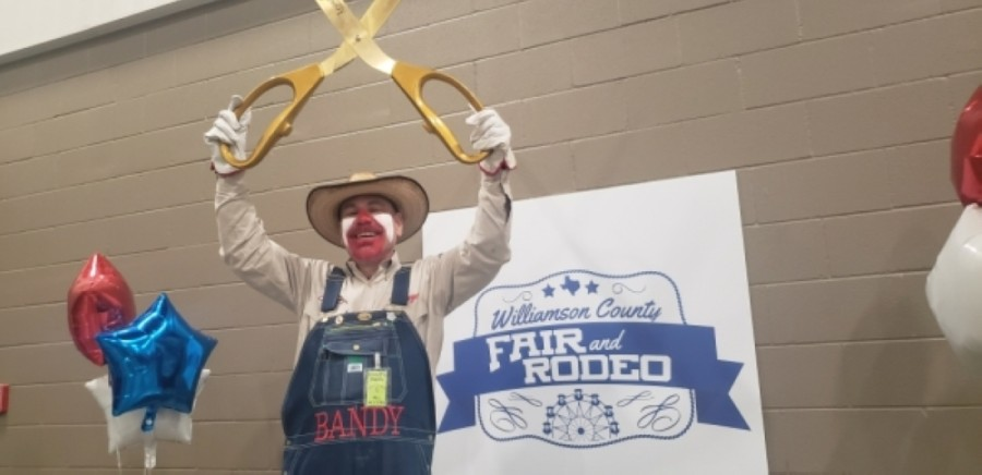 The Williamson County Fair and Rodeo held a kickoff event Jan. 28 at the Williamson County Expo Center in Taylor. On July 28 the event was postponed until October 2021. (Ali Linan/Community Impact Newspaper)