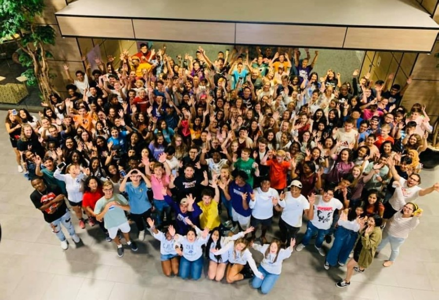 Klein Cain High School's inaugural senior class will be honored with a parent-led graduation ceremony on Friday, July 31. (Courtesy Heather Boland, Jennifer Mauz and Shelley Barreda)