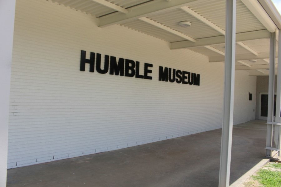 Volunteers began moving pieces into the renovated space in March. The new Humble Museum is projected open this fall, officials said. (Kelly Schafler/Community Impact Newspaper)