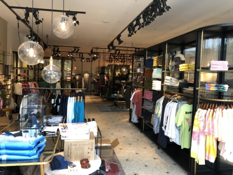 Dutch fashion house Scotch & Soda on June 19 opened its first Texas store at Domain Northside in North Austin. (Courtesy Scotch & Soda)