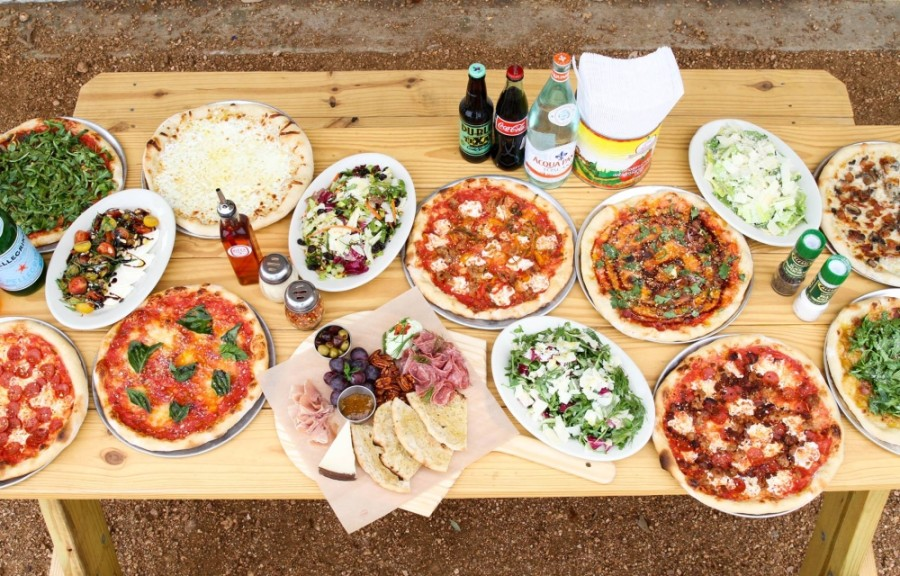 Pizza Americana offers a variety of pizzas, wine and beer. (Courtesy Pizza Americana)