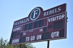 Franklin High School's mascot will no longer be the Rebels effective immediately, according to Superintendent Jason Golden. (Alex Hosey/Community Impact Newspaper)