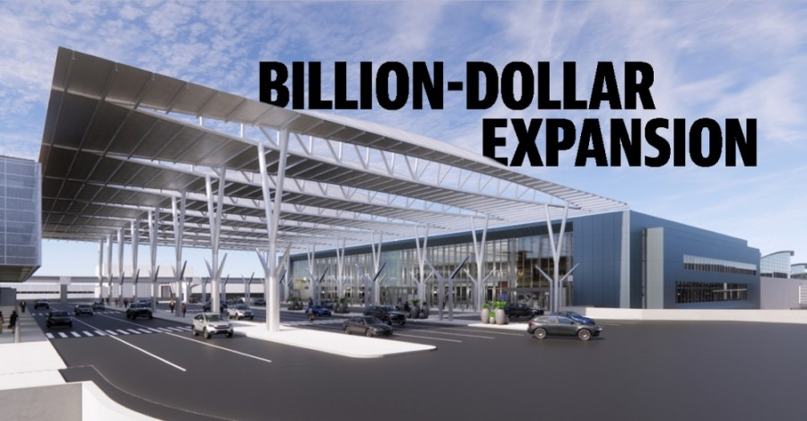 Contractors are moving forward this summer on a billion-dollar expansion program at George Bush Intercontinental Airport. (Rendering courtesy Houston Airport System) (Designed by Ethan Pham)