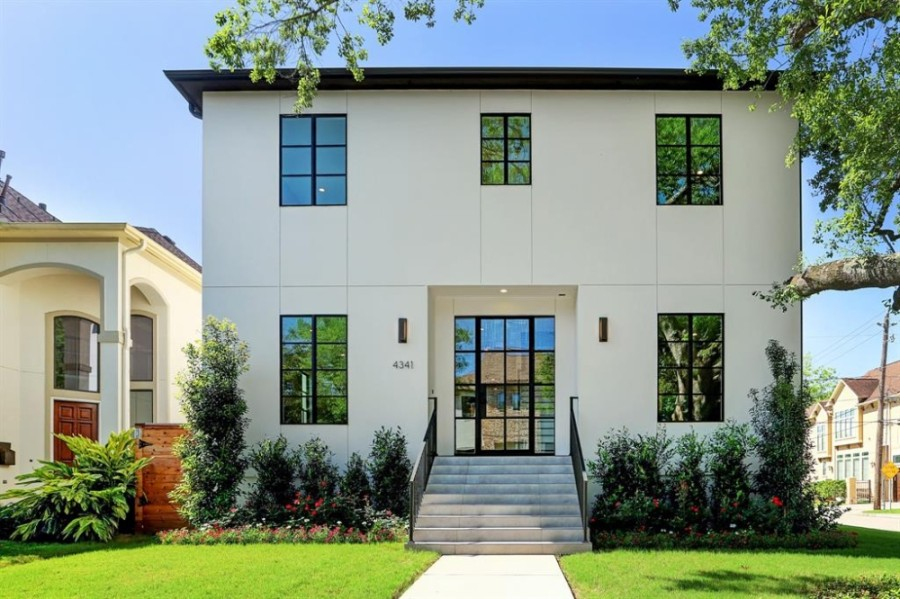4314 Vivian St., Bellaire: This new, 3,683-square-foot custom home features five bedrooms, 4 1/2 bathrooms, 10-foot ceilings throughout and a media room that could serve as a mother-in-law or nanny suite. It sold for $1,082,001-$1,242,000 on July 14. (Courtesy Houston Association of Realtors)