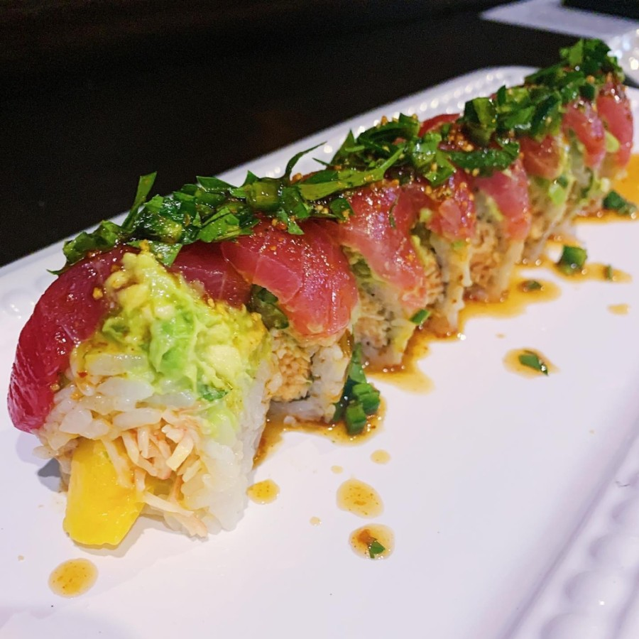 The Japanese restaurant offers daily specials on its sushi rolls. (Courtesy Koto Hibachi and Sushi)