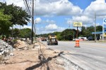 Construction along Anderson Mill Road in Northwest Austin