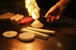 Jinbeh offers hibachi and sushi at its restaurants, all prepared fresh and, in the case of hibachi, in person. (Liesbeth Powers/Community Impact Newspaper)