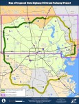 Grand Parkway segment map