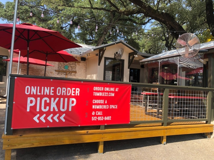 Tumble 22 opened its Lake Austin restaurant in the former location of Magnolia Cafe on July 16. (Courtesy Tumble 22)