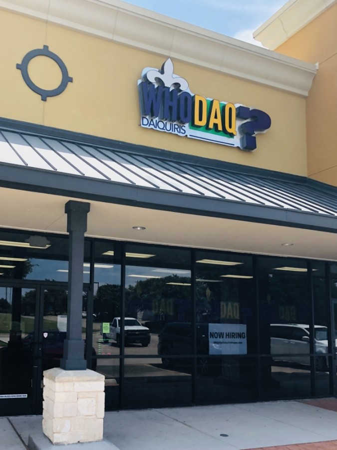 New Orleans-style daiquiri shop Who Daq? Daiquiris opened July 17 at 2021 Rufe Snow Drive, Ste. 201, Keller. (Ian Pribanic/Community Impact Newspaper)