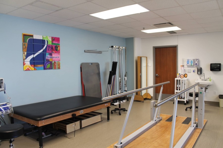 Physical therapy is one of the services offered at the clinic. (Courtesy PAM Rehabilitation Hospital of Richardson)