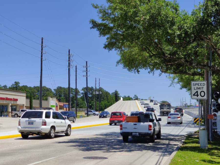The office of Montgomery County Commissioner James Noack announced a project will widen Rayford Road to four lanes this fall. (Ben Thompson/Community Impact Newspaper)