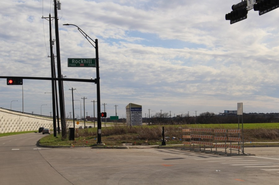 The newly named PGA Parkway will extend from Frisco's eastern border at Coit Road west to the roundabout at Teel Parkway. (William C. Wadsack/Community Impact Newspaper)