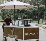 Owners Bradley Bailey and Makenzie Rankin opened Galavant's Coffee on Aug. 3. (Courtesy Galavant's Coffee)