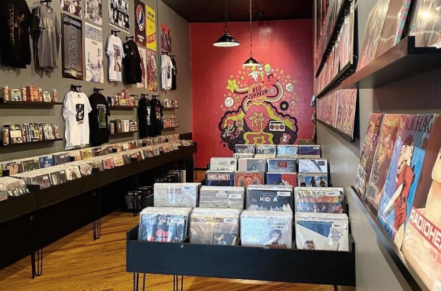 Red Zeppelin Records opened in late July in downtown McKinney. (Courtesy Red Zeppelin Records)