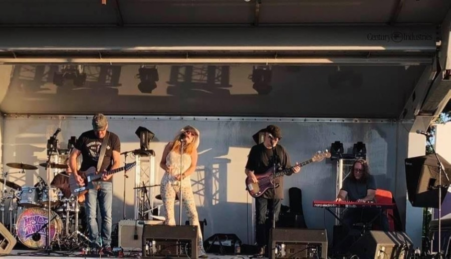 Viewers can enjoy live music from their car at the Tupps Brewery drive-in concert in McKinney. (Courtesy Tupps Brewery)