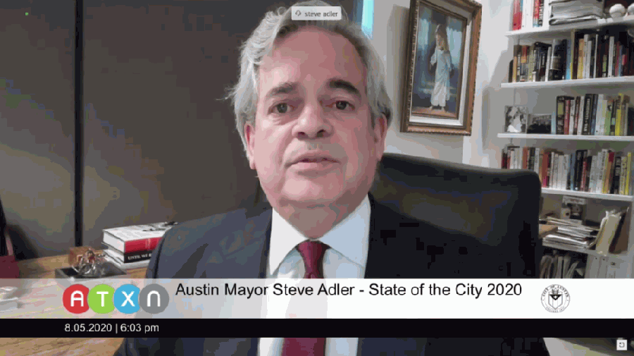 Austin Mayor Steve Adler (Courtesy ATXN)