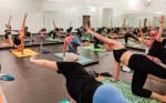 Many classes offered at Gypsy Waltz use far infrared radiant heating.  (Lauren Canterberry/Community Impact Newspaper)