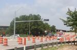 Work on Robinson Road will continue through 2020. (Ben Thompson/Community Impact Newspaper)
