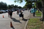 Visitors line up in front of Northwest Assistance Ministries to request rental assistance. (Courtesy Northwest Assistance Ministries)
