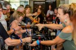 Attendees sample a wide variety of global wines and cuisine during Wine & Food Week. (Courtesy Food & Vine Time Productions)