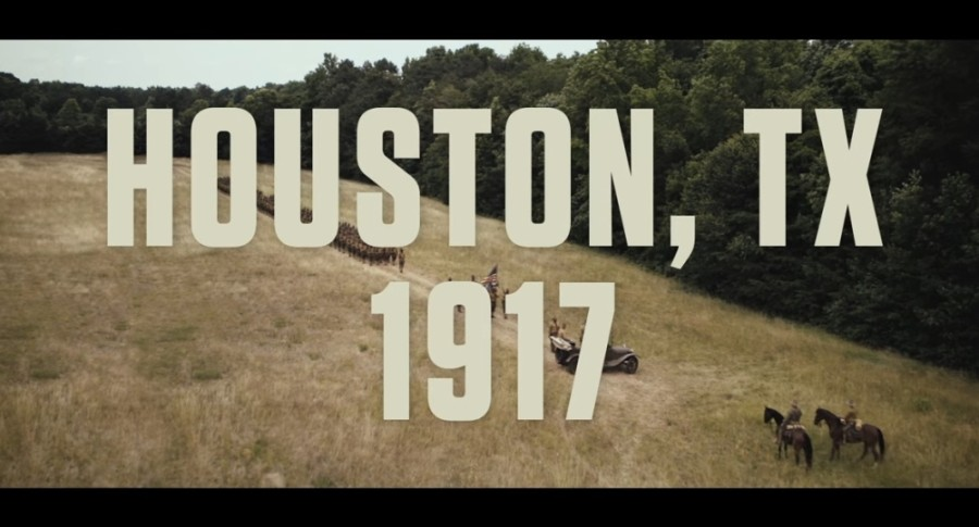 "A trailer for ""The 24th,"" a film about the 1917 riots involving an all-black Army unit stationed in Houston, was released Aug. 5. (Courtesy Vertical Entertainment)"