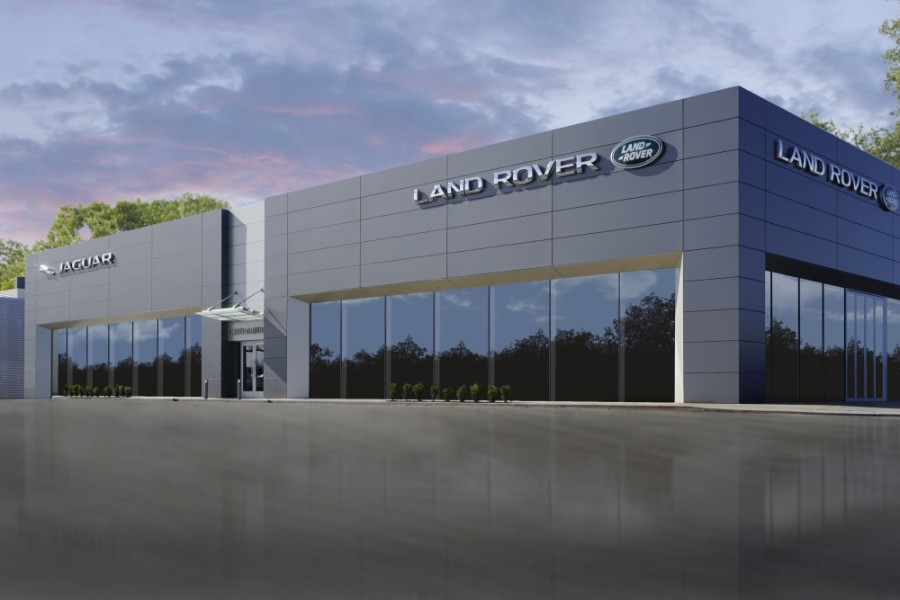 Sewell Jaguar Land Rover North Austin is now open. (Courtesy Sewell Automotive Companies)