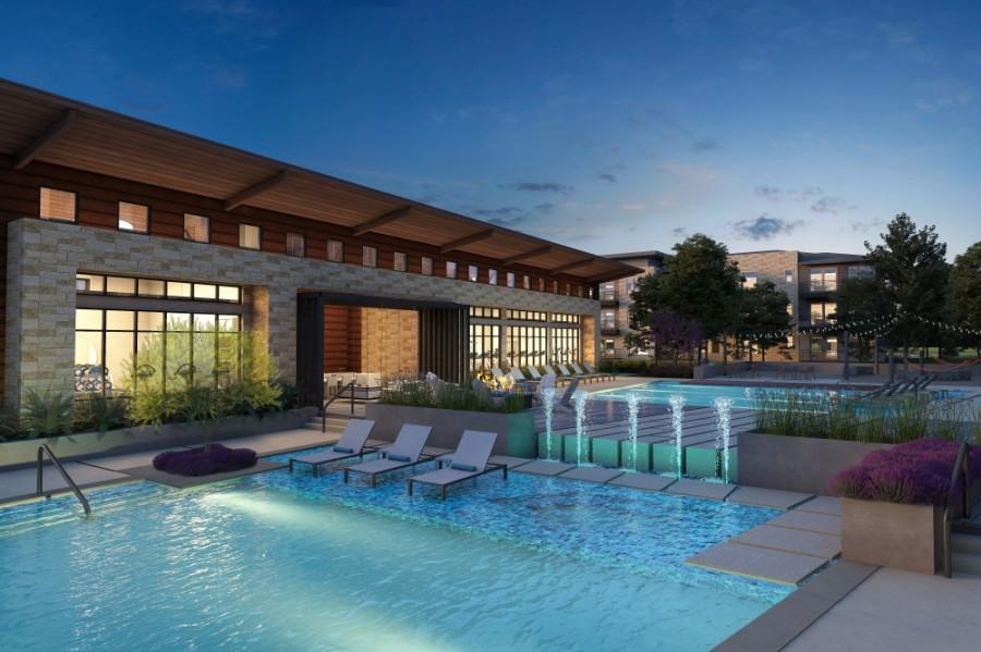 Aura Avery Ranch rendering