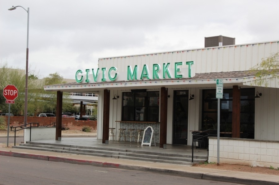 The property owner of Civic Market and neighboring QuartHaus told Community Impact Aug. 11 he intends to fully reopen the Civic Market concept after the former operators chose to move on. (Alexa D'Angelo/Community Impact Newspaper)