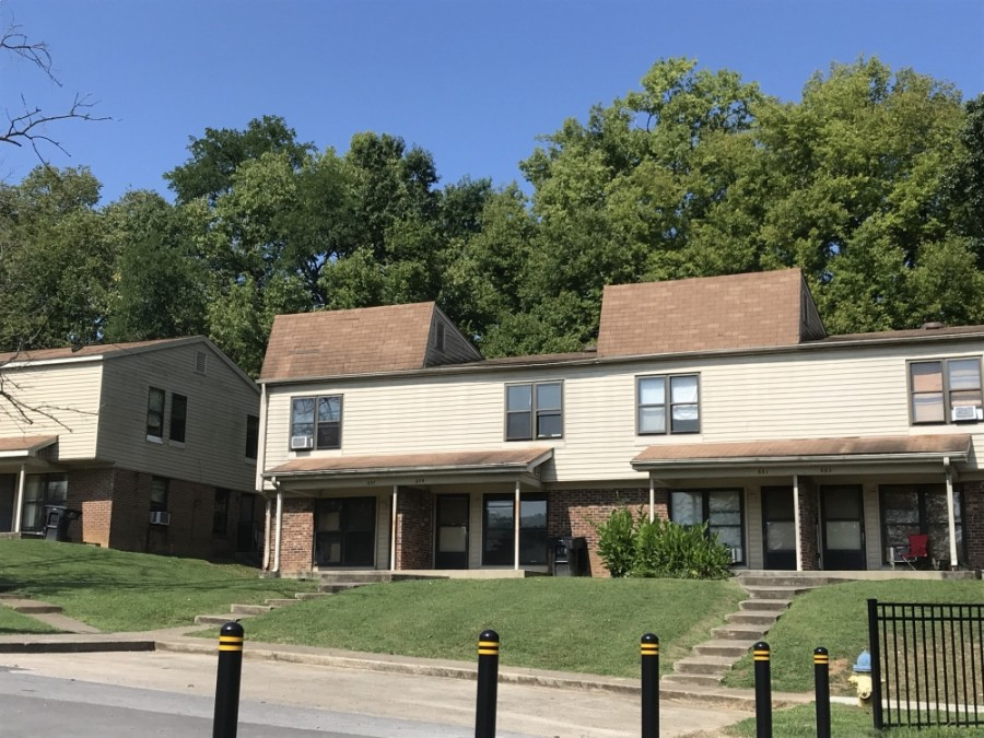 Affordable housing units at Cherokee Place in Franklin will be torn down and redeveloped into new multifamily, affordable housing. (Wendy Sturges/Community Impact Newspaper)