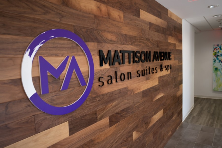 After being temporarily closed because of the coronavirus pandemic, Mattison Avenue Salon Suites & Spa has leased half of its 50 private suites to independent beauty professionals. (Courtesy Mattison Avenue)