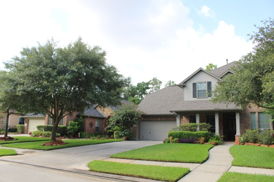 The Woodlands saw home prices increase in four of seven area ZIP codes in July.  (Photos by Ben Thompson/Community Impact Newspaper)