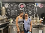 Leah Molina and Elizabeth Rios took ownership of Redbud Roasters in 2017. (Evelin Garcia/ Community Impact Newspaper)