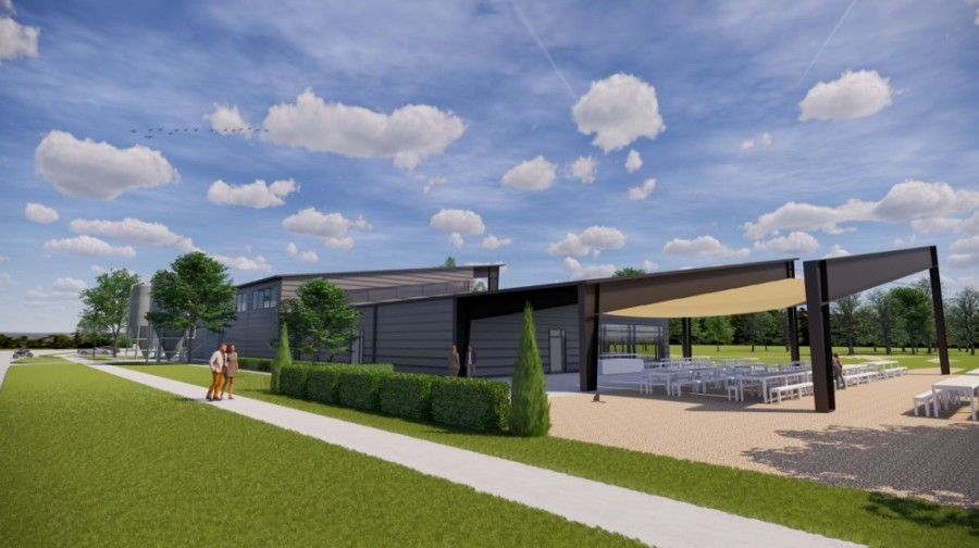 The facility in Tomball is being designed by Ziegler Cooper Architects. (Rendering courtesy Tomball Economic Development Corporation)