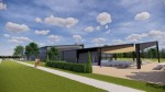 The facility in Tomball is being designed by Ziegler Cooper Architects. (Rendering courtesy Tomball Economic Development Corp.)