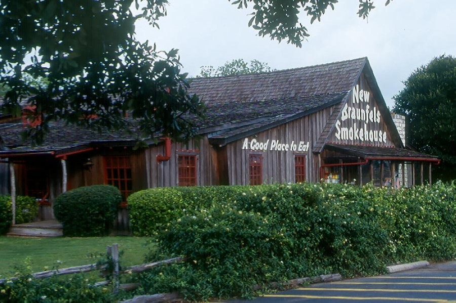 The New Braunfels Smokehouse Restaurant opened in 1952. (Courtesy New Braunfels Smokehouse)