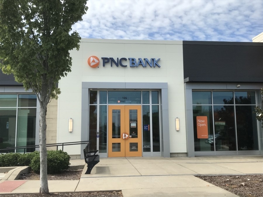 PNC Bank's Franklin location opened in late July. (Wendy Sturges/Community Impact Newspaper)
