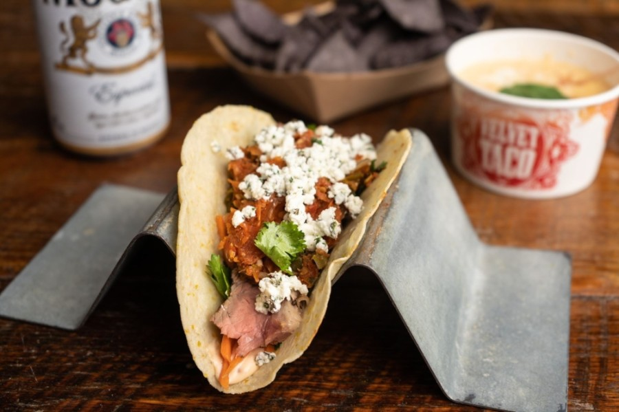 Velvet Taco is planning to open in the fall on Park Boulevard in Plano. (Courtesy Velvet Taco)