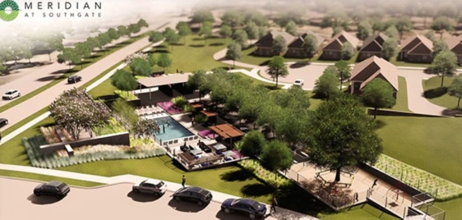 Meridian at Southgate is a new single-family residential community coming soon to McKinney. (Rendering courtesy Meridian at Southgate)