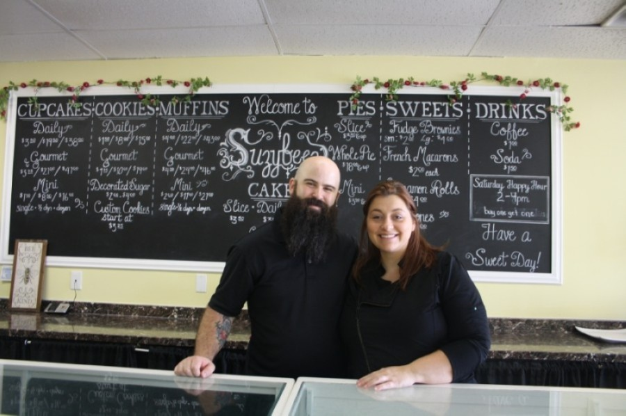 Tom and Caty Johnston own Suzybeez Bakery in Cypress. (Danica Lloyd/Community Impact Newspaper)