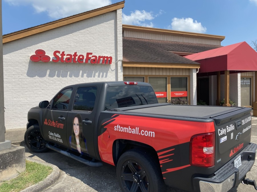 Originally located near Hwy. 249, the Caley Baillio State Farm Insurance office now operates at 620 W. Main St., Ste. B, Tomball, offering services in auto, home and renters insurance, among other types. (Courtesy Caley Baillio State Farm Insurance)