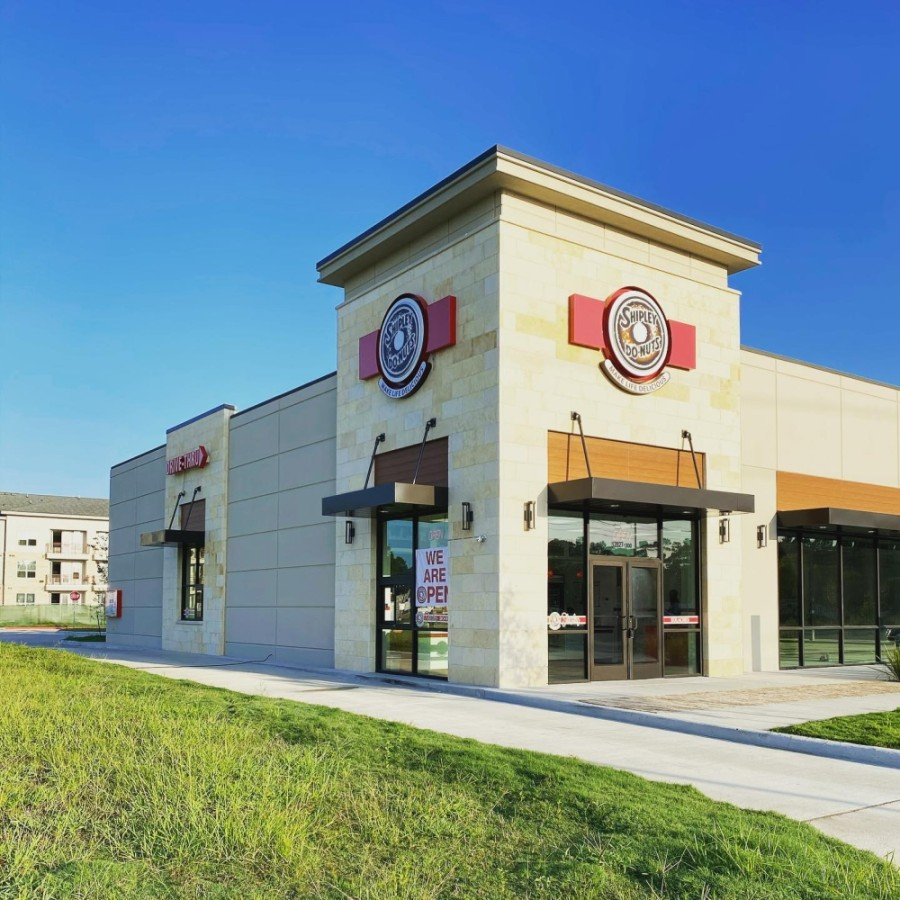 A new location of Shipley Do-Nuts opened Aug. 14 at 12827 Telge Road, Cypress, in the Telge Crossing development at Jarvis Road. (Courtesy Shipley Do-Nuts)