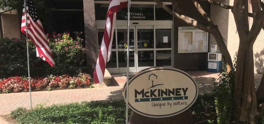 McKinney City Manager Paul Grimes announced Aug. 17 the proposed property tax rate for the fiscal year 2020-21 budget would be $0.006955 less than the current year. (Cassidy Ritter/Community Impact Newspaper)