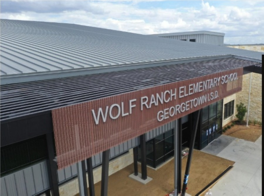 Wolf Ranch is located off of D.B. Wood Road south of Hwy. 29. (Screenshot courtesy Georgetown ISD)